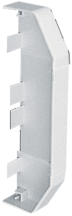 MT EECP1MWH End Cap 1 Piece Moulded Whi