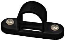Marshall Tufflex Black PVC Spacer Bar Saddle 25mm