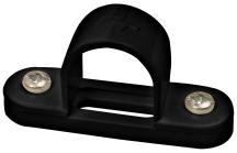 Marshall Tufflex Black PVC Spacer Bar Saddle 25mm