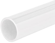 Marshall Tufflex White Heavy Gauge Round Plastic Conduit 20mm x 3m