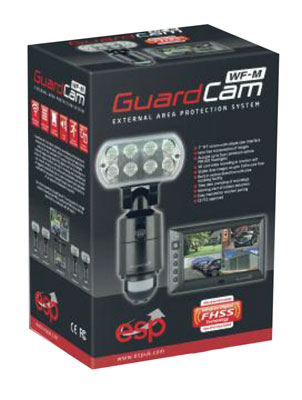 ESP GUARD-CAM-WF-M LED Floodlight & Cam