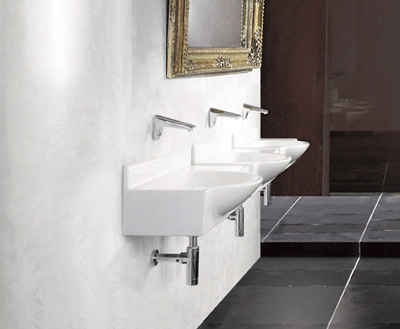 Armitage shanks s242901 washbasin semi recessed no for Best bathrooms rugeley