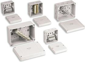 Newlec Nl9145 Junction Box 5p Ip65 98x98x58mm White