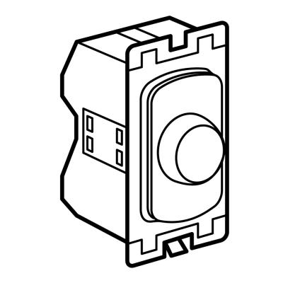 legrand electric ltd 735448   dimmer switch  1 module 2