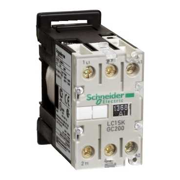 schneider electric control auto lc1skgc200b7 contactor. Black Bedroom Furniture Sets. Home Design Ideas
