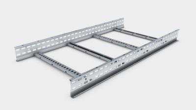 Unitrunk Cable Management Ltd Sw4 Sl3 750 Gy Ladder Rack