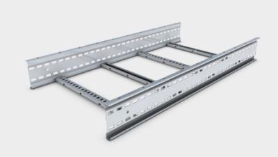 Unitrunk Cable Management Ltd Sw6 Sl3 300 Gy Ladder Rack