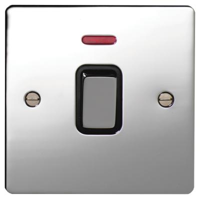 Deta Electrical Company Ltd 8156chb Switch Dp C W Neon