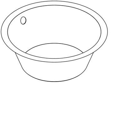Franke Round Sink : Franke Sissons Ltd D20142N : Bowl, Round Inset Sink 380mm Stainless ...