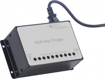 C Tec Qt424 10 Charger Unit Ten Way For Qt412 Transmitter