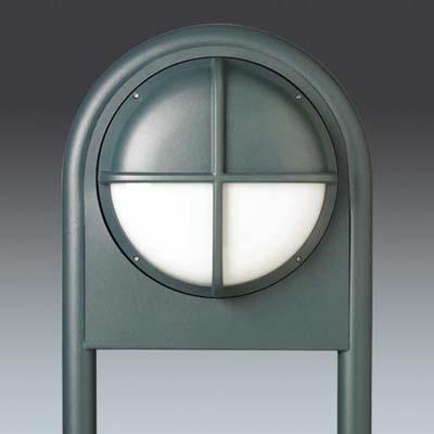 Thorn External Wall Lights : Thorn Lighting Ltd EYSBOLB : Frame, Small Eye Bollard Eyekon Black